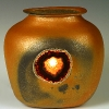 Jug Night Light with agate